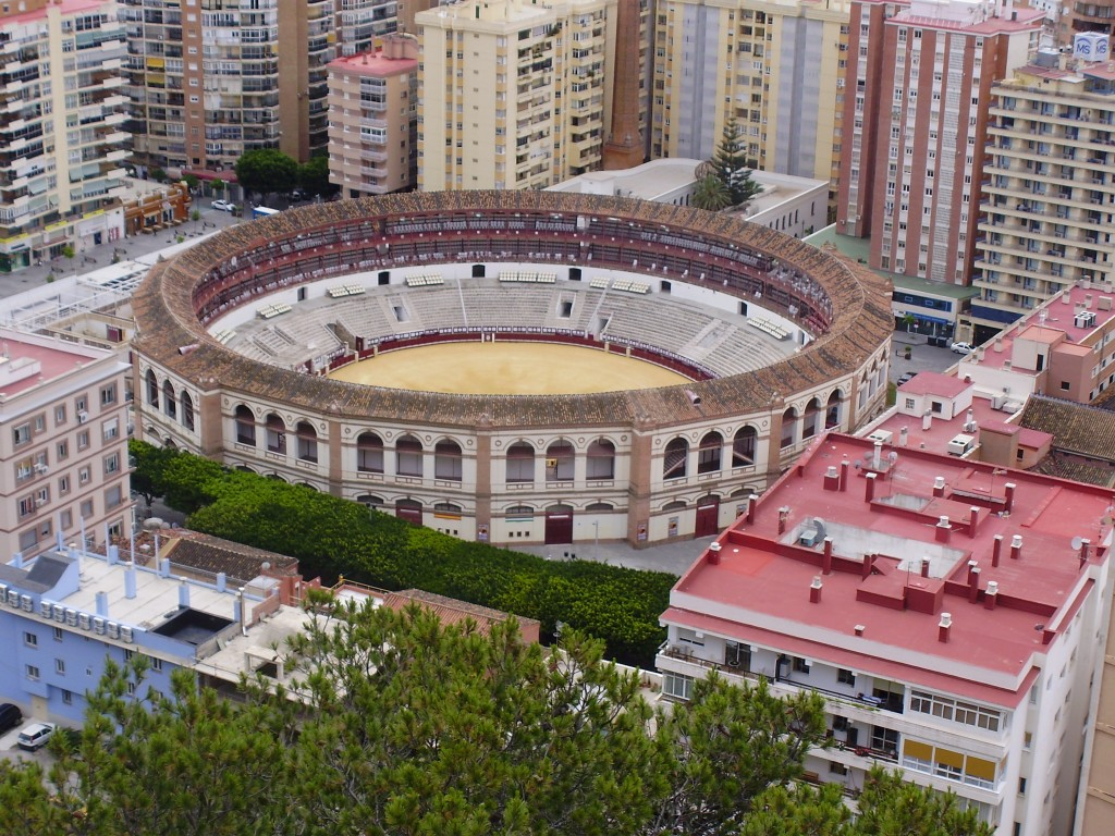 The Malgueta, Malaga's bull fighting arena. Fights run from April through September