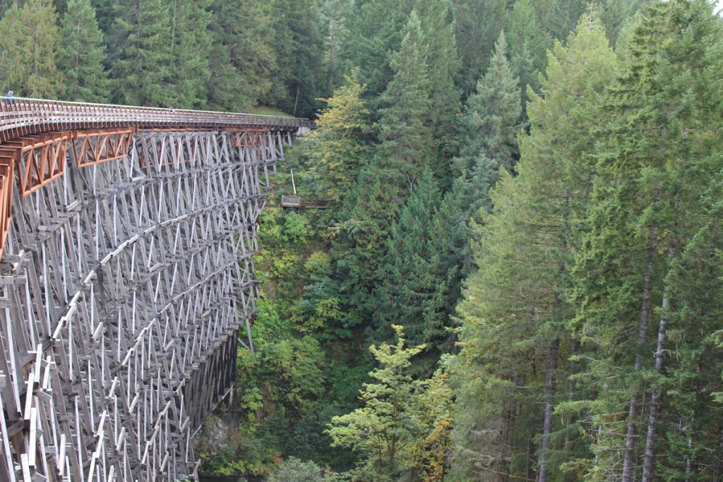 One last look at the Kinsol Trestle