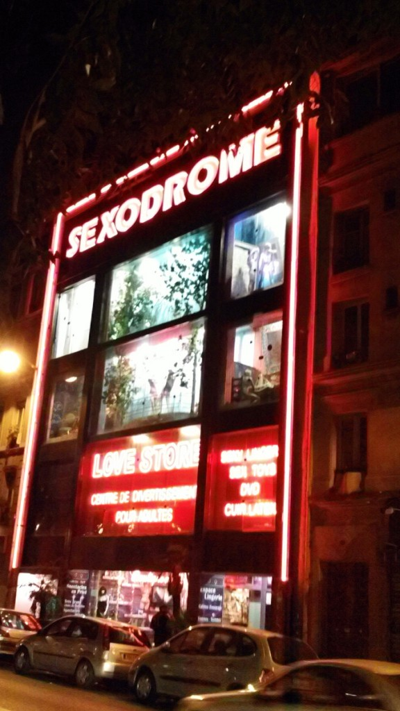 The Sexodrome - an adult supermarket