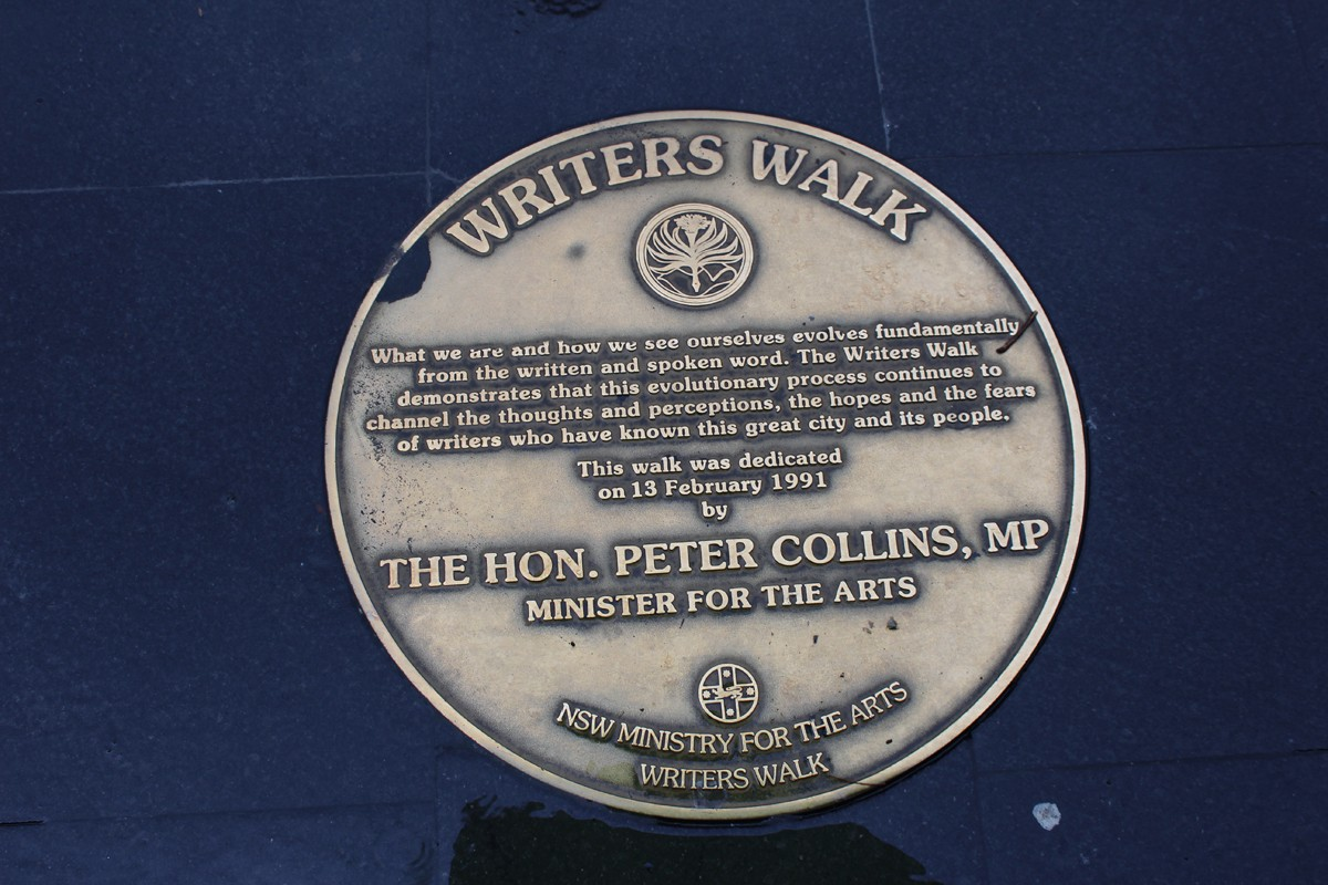 Photo Gallery: The Writers Walk, Sydney