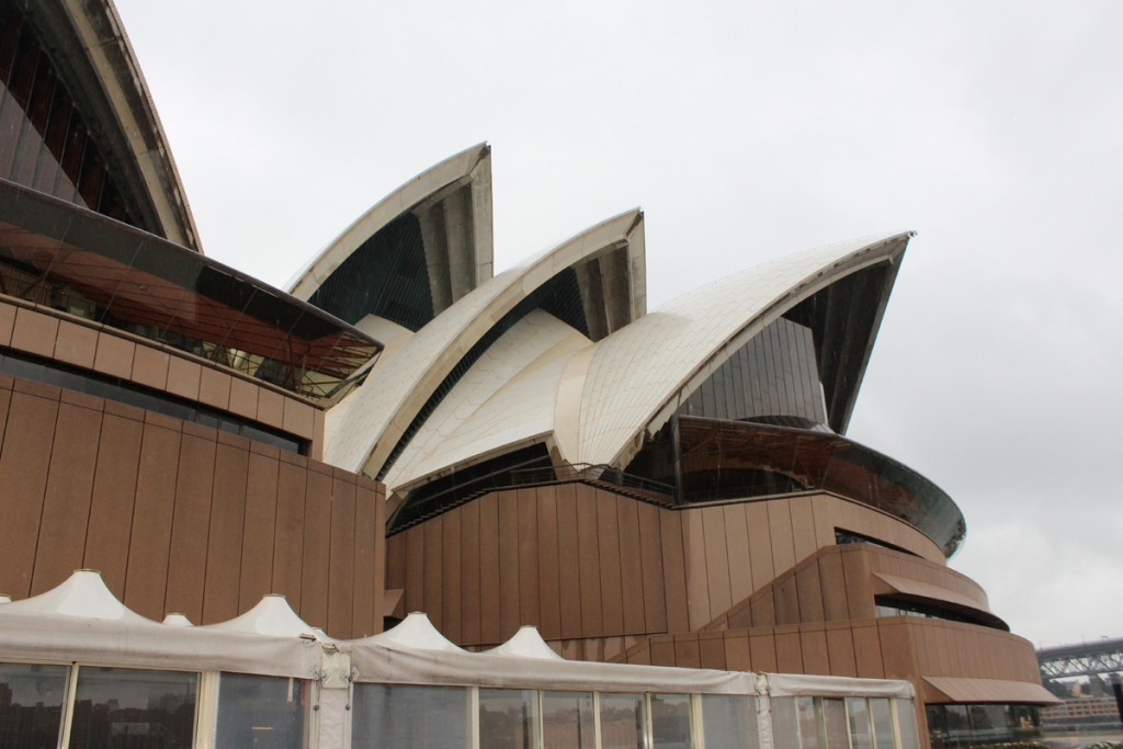 Rear of the opera house