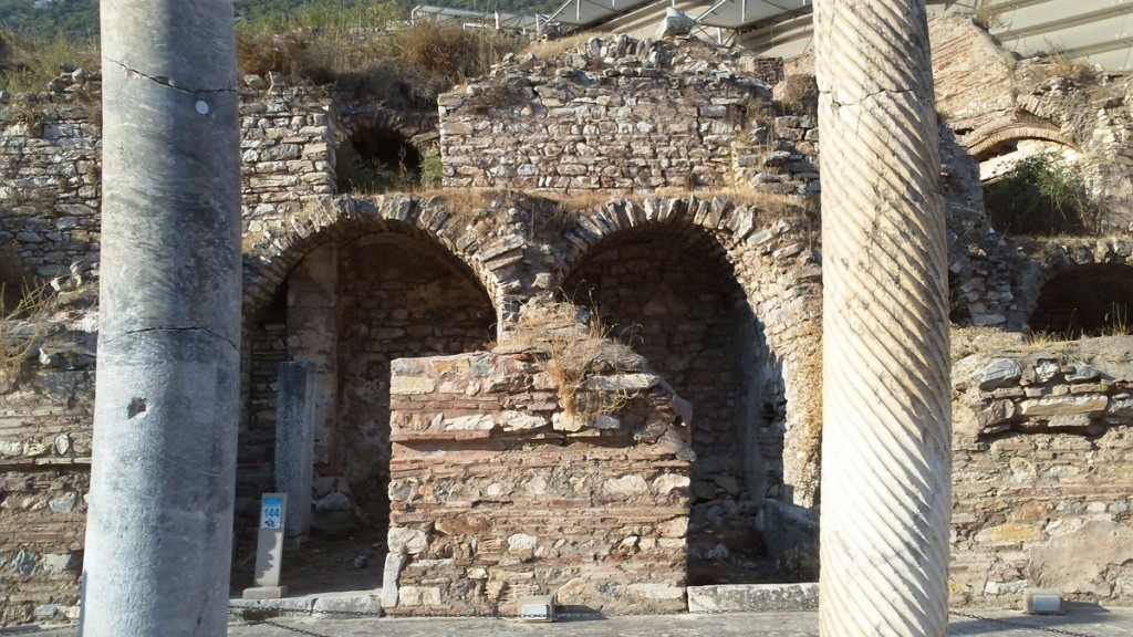 Part of the Domitian Temple