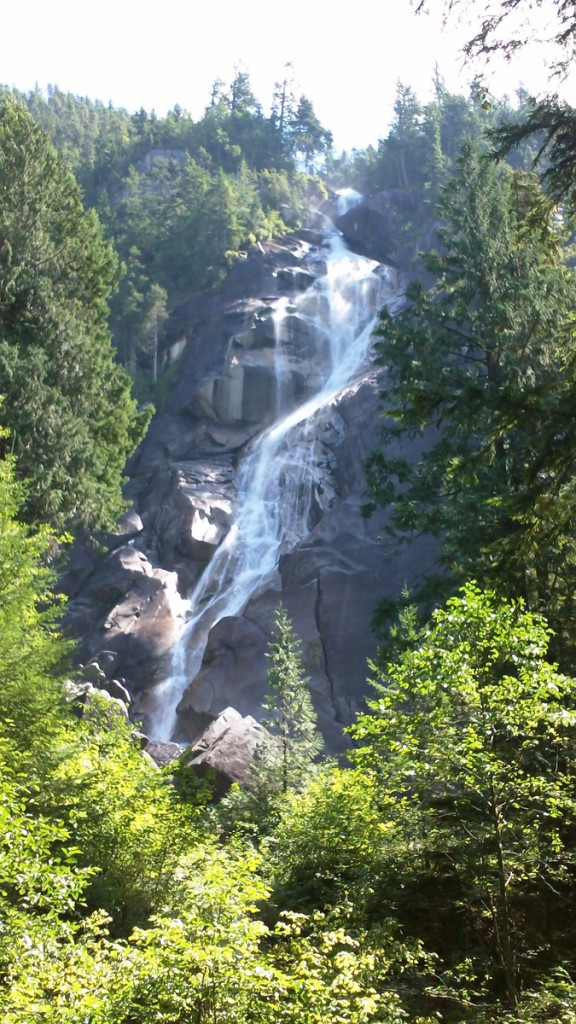 Beautiful Shannon Falls